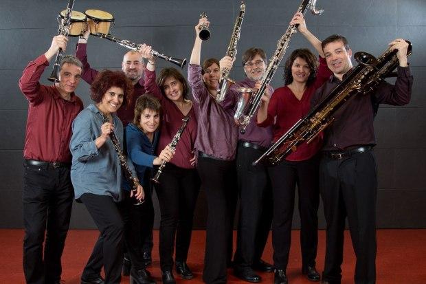 la cana simple Octet de clarinets i percussió